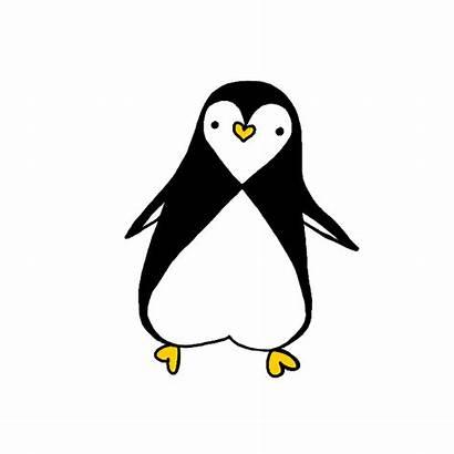 Grafolio Penguin 펭귄 하트 Report Badges Received
