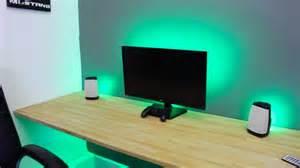 desk with led lights image gallery led desk