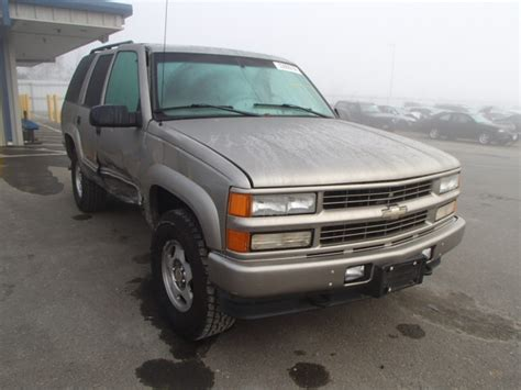 Used Salvage Parts Chevrolet Tahoe