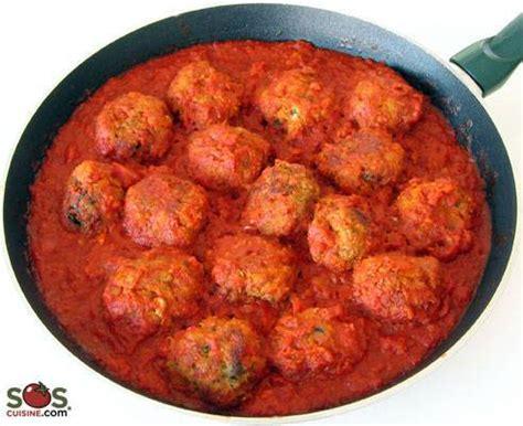 boulettes de viande sauce tomate cuisine italienne boulettes de viande dans une sauce à la tomate
