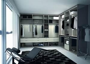 Amenagement De Dressing : am nagement d 39 un dressing ouvert mobilier f camp premier plan ~ Voncanada.com Idées de Décoration
