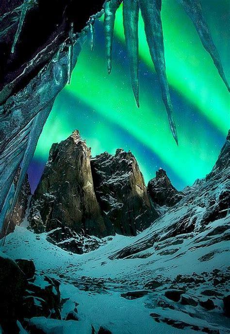 Aurora Borealis Yukon Canada Beautiful Landscapes