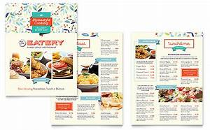family restaurant menu template word publisher With microsoft publisher menu templates free