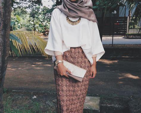 outfit kondangan hijab remaja