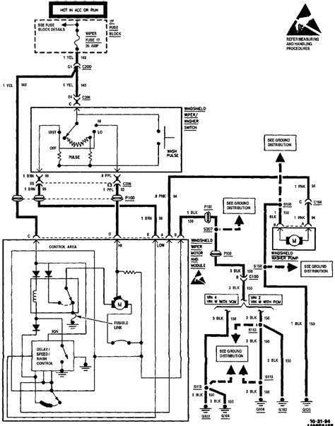 How Test The Wiper Motor Circut Pickup