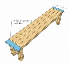 free park bench plans wooden bench plans | Quick ...