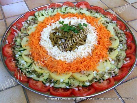 de plats de crudites apero  salades