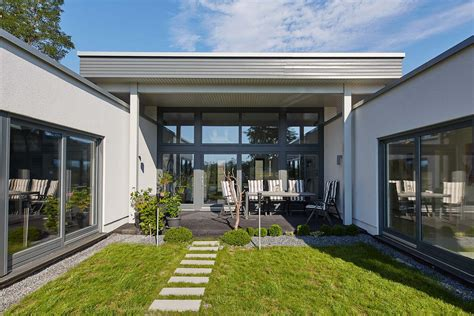 Moderne Häuser U Form by Luxus Bungalow Grundrisse Bungalow Grundrisse U Form Qm