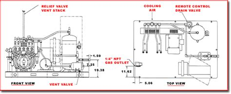 diagram of gas compressor wiring diagram