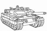 Coloring Tank Battle Germany Tanks Pages sketch template