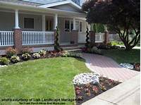 perfect landscape design ideas around patio Front Yard Landscape Designs with Before and After Pictures