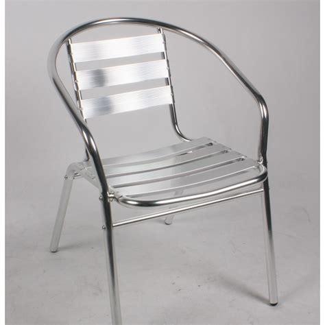 table bistrot aluminium chaise bistrot en aluminium chaises de jardin tables