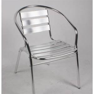 Bricorama Salon De Jardin : table et chaise bistrot aluminium ~ Dailycaller-alerts.com Idées de Décoration