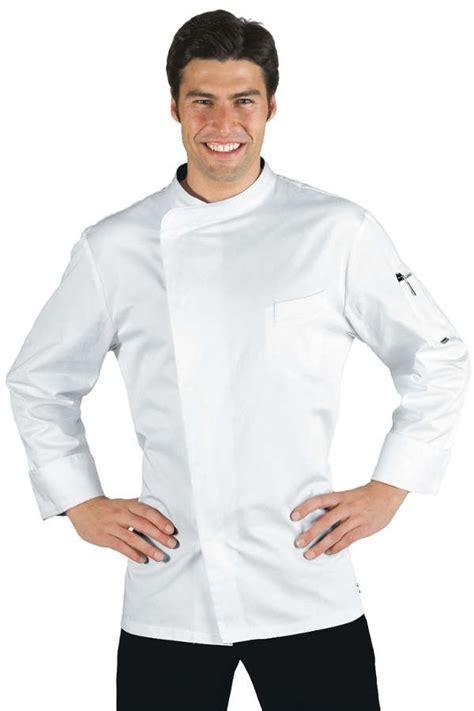 vetement de cuisine professionnel pas cher veste chef cuisinier bilbao satin blanc 100 coton