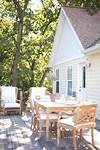 Timeless Wood Patio Furniture for the Lake Cottage cottage style outdoor patio furniture