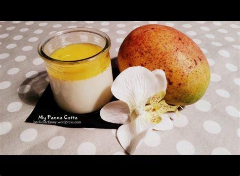 recette thermomix tm5 dessert panacotta au coulis de mangue recette thermomix tm5 thermomix panna cotta