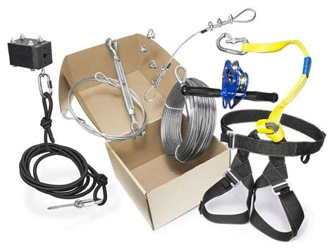 Zip Line Kits For Backyard by Chetco Zip Line Combo Kit Sleaddventures Llc Yard
