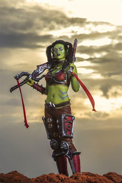 garona halforcen world  warcraft cosplay  lynx