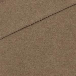 Tissu Gris Chiné : tissu d ameublement en polyester aspect flanelle uni ~ Teatrodelosmanantiales.com Idées de Décoration