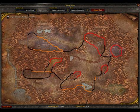 wow classic mining guide thorium map