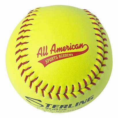 Softball Transparent Fastpitch Speed Leather Club Balls