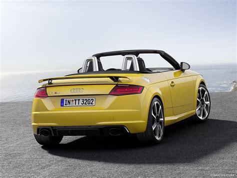 Audi Roadster Color Vegas Yellow Rear