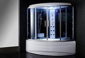Baignoire Douche Balneo : baignoire douche hammam omega 150 s thalassor fabricant ~ Melissatoandfro.com Idées de Décoration