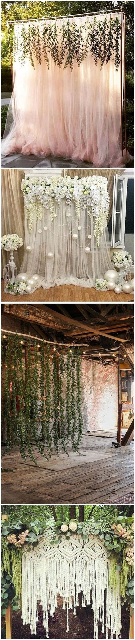 Diy Rustic Backdrop by The 25 Best Rustic Wedding Backdrops Ideas On
