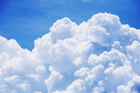 Free photo: Large Puffy Clouds - Abstract, Landscape, View ...