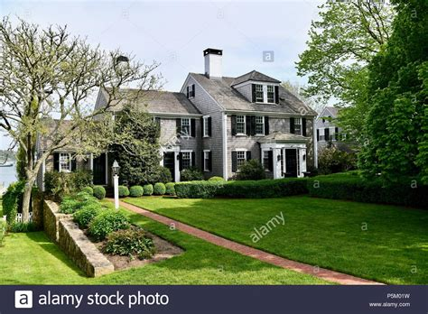 Marthas Vineyard Home Style by Cape Cod Style House Stock Photos Cape Cod Style House