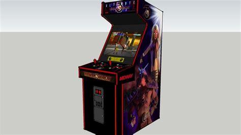 Mortal Kombat Arcade Cabinet Plans by Ultimate Mortal Kombat 3 Classic Arcade Cabinets