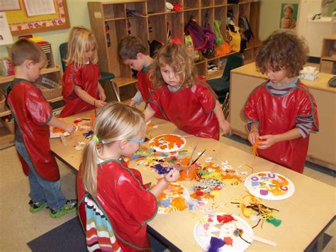 ct child care options child development portfolio high 399 | preschool%20art%20table
