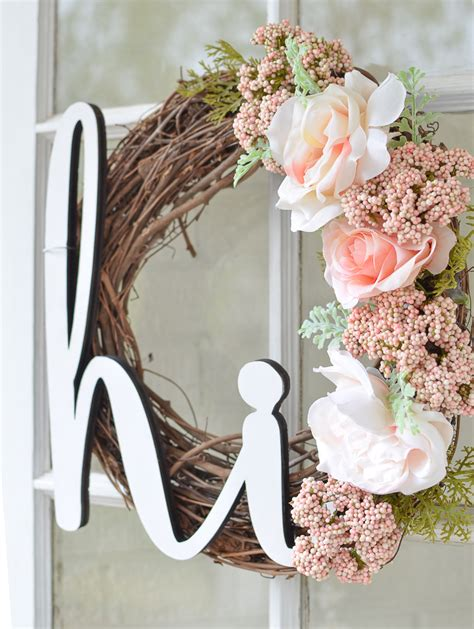 diy door wreaths diy summer wreath for your front porch