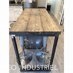 Meuble Ilot Cuisine : meuble cuisine industriel bande transporteuse caoutchouc ~ Teatrodelosmanantiales.com Idées de Décoration