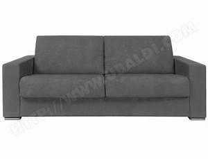 canape lit alterego divani pluslit 3 places gris pas cher With canapé lit ubaldi