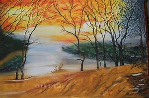 WATER COLOR LANDSCAPE MODERN ART PAINTING-Online Shopping-