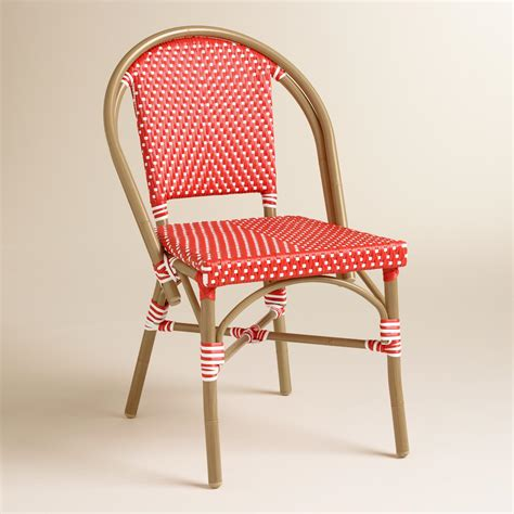 barbados cherry kaliko bistro chairs set of 2