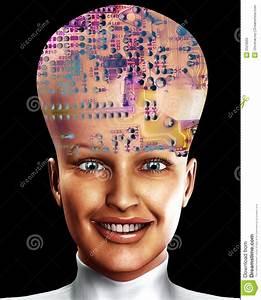 Baby Großer Kopf : big head 7 stock illustration image of concept androidlike 2524865 ~ Orissabook.com Haus und Dekorationen