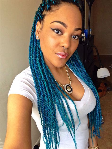 Hairstyles Senegalese Twists by 49 Senegalese Twist Hairstyles For Black Locs