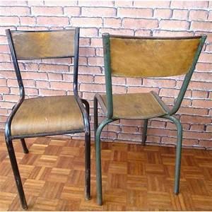 Chaise D école : chaises mullca deco vmc002 la boutique vintage ~ Teatrodelosmanantiales.com Idées de Décoration