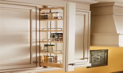 Slide Out Spice Racks For Kitchen Cabinets by Kitchen Shelf Storage Racks Cabinet Pull Out Spice