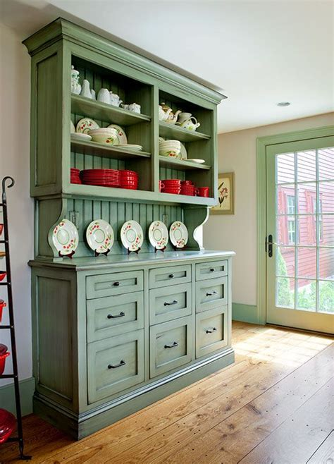 Kitchen Hutch With Drawers by Custom Built In Hutch With Inset Shaker Style Drawers