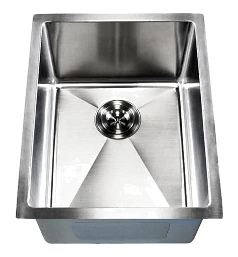 kitchen sinks small 15 quot ecosus 174 stainless steel kitchen bar sink small radius 3054