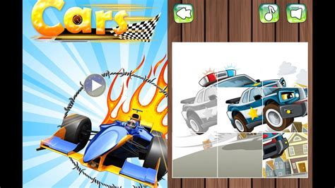 Cars Slide Puzzles / Children / Baby / Android Gameplay