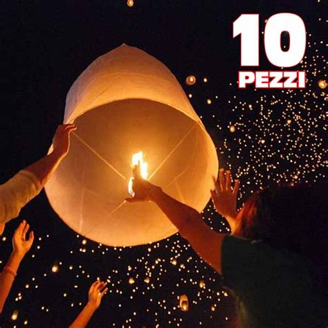 Mongolfiera Volante by 10 Pezzi Mongolfiera Volante Lanterne Cinesi Per
