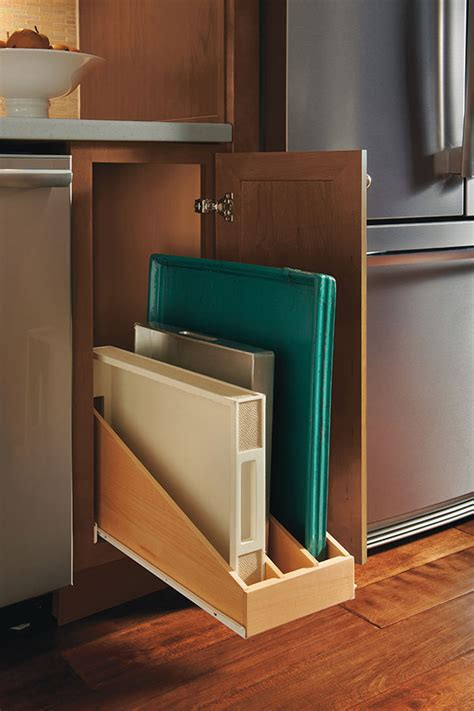 roll  tray divider homecrest cabinetry