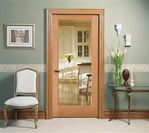 Houzz Patio Doors by Clear Glass Decorative Glass Interior Door Kitchen