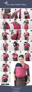 24 Best Baby Wrap Tying Instructions Images On Pinterest