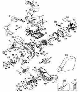 Dewalt Dw713 Type1 Miter Saw Parts