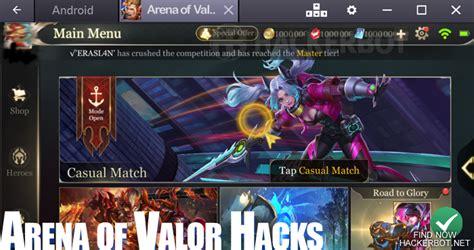 cheat game arena  valor aov  voucher cash